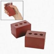 Fun Express Bulk Toy Brick Relaxable