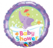 Pioneer Balloon Company Baby Shower Elephant Balloon, 46cm , Multicolor