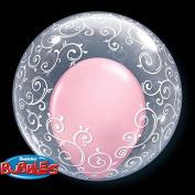 PIONEER BALLOON COMPANY Fancy Filligree Deco Bubble, 60cm