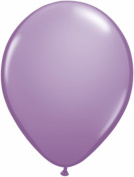 PIONEER BALLOON COMPANY Spring Lilac Fashion Opaque Latex Balloons, 23cm , Clear