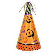 33cm Jumbo Pumpkin Faces Halloween Party Hat Centrepiece Decoration