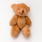 NEW 15 X BROWN Teddy Bears 12cm - Cute Cuddly Soft - Gift Present Birthday Xmas