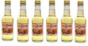 6 x KTC 100% Pure Castor Oil 250 ml Ideal for Hair Care Eyebrows Nail Care Suitable for Dry (Pack of 6) by KTC