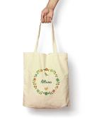 Floral Allana - Canvas Tote Bag