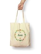 Floral Addi - Canvas Tote Bag
