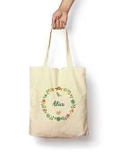 Floral Alice - Canvas Tote Bag