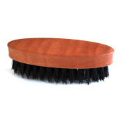 Beard Brush with Pear Wood Handle and Natural Bristles - Men's Grooming by DURSHANI