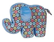 C.R. Gibson Elephant Plush Toy, Loverboy