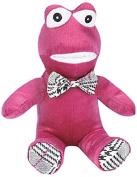 Grriggles Heritage Frog Toy, Pink