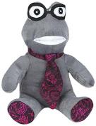 Grriggles Heritage Frog Toy, Grey