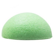 New Natural Facial Sponge Face Cleansing Puff Beauty Cosmetic Tool Skin Care Green