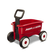 Radio Flyer My 1st 2-in-1 Waggon Ride On, Red