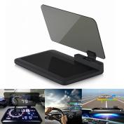 HUD Head Up Display - BW HD Reflection Smartphone Navigation Head Up Display Holder for 15cm Phone & HUD