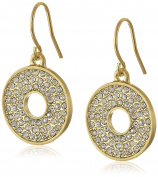 Karen Kane Iris Open Disc Drop Earrings