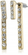 a.v. max Rhinestone Front-Back Stick Earring Jackets