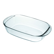 Duralex Made In France Rectangular Baking Dish, 41cm by 25cm , Clear