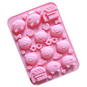 Longzang Cute Animals Silicone mould Cake / Chocolate moulds Baking mould