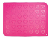 ScrapCooking Silicone Mat for Heart Shaped Macaroons