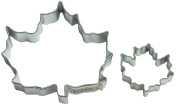 Cybrtrayd Parent/Child Cookie Cutter Set, 7.6cm , Canada Maple Leaf