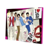 One Direction LED Wall Art, 11.5 x 15.75