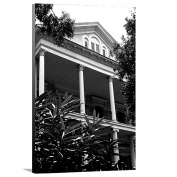 Artzee Designs Home Decor Ready to Hang Great Gift Idea Travel Louisiana New Orleans Plantation House 2 Canvas Photography Wall Art, 41cm x 50cm , Multicolor