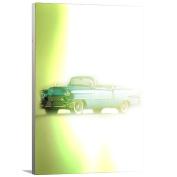 Artzee Designs Home Decor Ready to Hang Great Gift Idea Vintage 1952 Cadillac Eldorado Wall Art, 25cm x 30cm , Multicolor