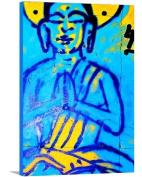 Artzee Designs Custom Modern Spiritual Buddha Canvas Abstract Art, 90cm W x 120cm H