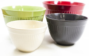Natural Home MOBOO 4-Piece Stacking and Nesting Mixing Bowls