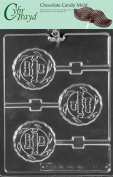 Cybrtrayd V173 Happy Valentine's Day Lolly Valentine Chocolate Candy Mould with Exclusive Copyrighted Instructions