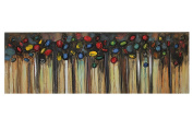 Essential Décor Entrada Collection Canvas Oil Painting, 59.65 by 12cm by 50cm