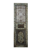 Essential Décor Entrada Collection Old Style Door Canvas Oil Painting, 59.65 by 12cm by 50cm