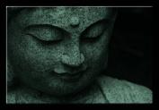 Picture Sensations Glow in The Dark Canvas Wall Art, Buddha Spiritual Zen Art