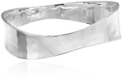 "Robert Lee Morris ""Soho Sculptural"" Silver-Plated Bangle Bracelet"