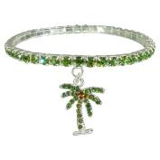 Green Palm Tree Bracelet