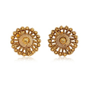 Exclusive Imitation High Finish Gold Plated Earrings / AZIEGT401-AGL