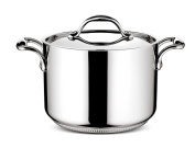 Lagostina 011115020526 lagofusion Saucepan with Lid Stainless Steel 26 cm