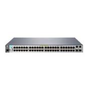 Aruba 2530 48 PoE+ L2 Managed Ethernet Switch, 48 Port RJ-45 10/100 PoE+ (382W Total Budget), 2 Port