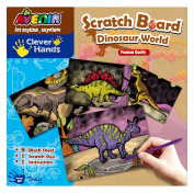 Avenir CH1255 Dinosaur Scratch Board