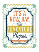 Wheatpaste Art Collective Canvas Wall Art It's a New Day by Fancy That Design House and Co., 46cm by 60cm