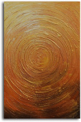 """Omax Decor Hand Painted """"Descent Into Gladness"""" Oil Painting on Canvas"""