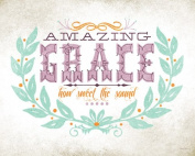 Wheatpaste Art Collective Amazing Grace by Fancy That Design House Canvas Wall Art, 80cm by 60cm
