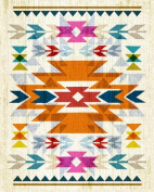 Wheatpaste Art Collective Canvas Wall Art Navajo by Fancy That Design House and Co., 60cm by 80cm