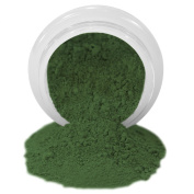 ColorPops by First Impressions Moulds Matte Green 25 Edible Powder Food Colour For Cake Decorating, Baking, and Gumpaste Flowers 10 gr/vol single jar