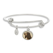 The Adjustable Band Bangle Bracelet featuring the Cocker Spaniel