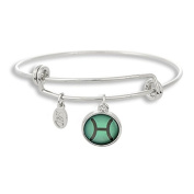 The Adjustable Band Bangle Bracelet featuring the colour pop Picses astrology sign