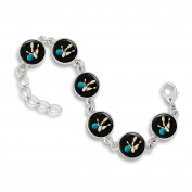 The Classic 13MM 6-Link Bracelet featuring Bowling Ball and Pins