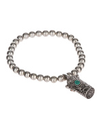 A Prayer for my Mother in a Blue Box Stretch Antique Inspirational Bracelet by Jewellery Nexus