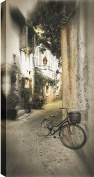 HobbitHoleCo Gallery Wrapped 46cm by 60cm Landscape Photography on Canvas, P.T. Turk, Parked Against The Wall
