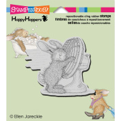 Stampendous Happyhopper Cling Rubber Stamp, 8.9cm by 10cm , Cool It