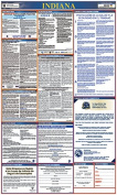 Osha4less Indiana All-in-One Labour Law Posters Spanish